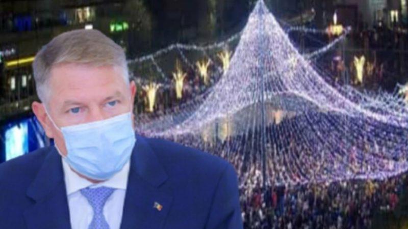 """Singurele orașe mari din țară cu târguri de Crăciun. Klaus Iohannis: """"Organizarea, imposibilă și inoportună"""""""